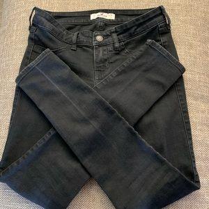 EUC Hollister Jeans size 26/29 Black